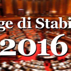 Legge di Stabilità 2016: le principali novità tributarie